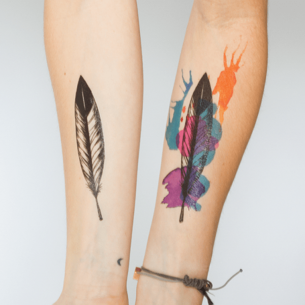 temporary tattoos get the facts the fashion face