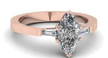 MARQUISE DIAMOND ENGAGEMENT RING SETTINGS IN MANY VARIANTS