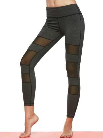 Reveal the Best Shape Through These Gorgeous Mesh Leggings
