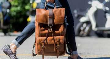 3 Stunning Leather Backpacks With a Charm Unlike Any